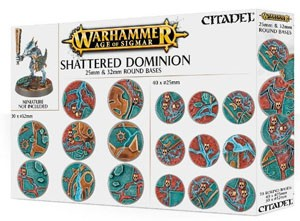 AOS - Shattered Dominion: 25 & 32mm round