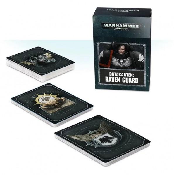 Warhammer 40k Space Marines: Space Marines Datacards: Raven Guard (deutsch)