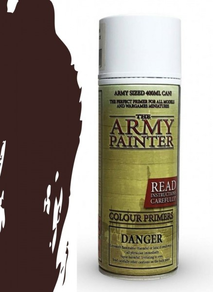 The Army Painter: Color Primer, Chaotic Red 400 ml