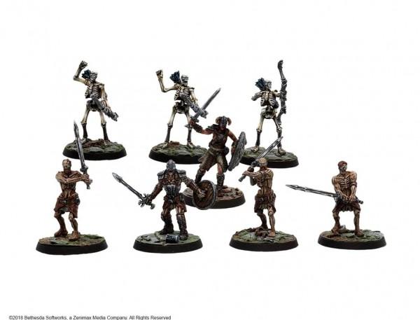 Bleak Falls Barrow Plastic Delve Set - The Elder Scrolls - Call to Arms