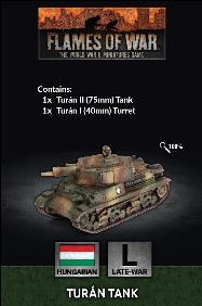 Flames of War: Hungarian Turán Tank