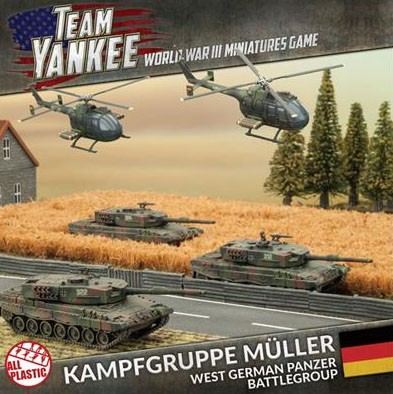 Team Yankee Kampfgruppe Müller Army Deal (plastic)