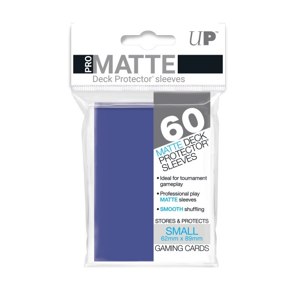 Small Deck Protector Pro-Matte Blue 62x89mm (60)