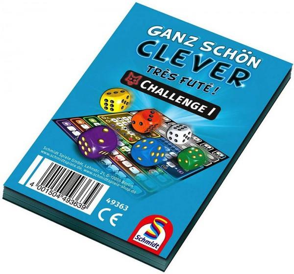 Ganz schön clever! Challenge 1 - Blau