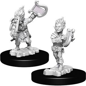 Pathfinder Deep Cuts Mini.: Gnome Male Bard