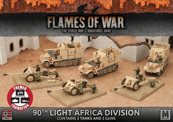 Flames of War GE: 90th Light Africa Division