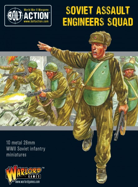 Bolt Action: Soviet Assault Engineers Squad (10)