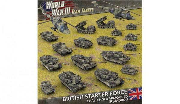British Starter Force (Plastic x19)