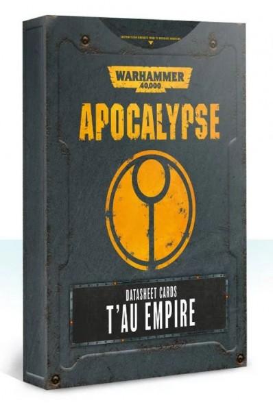 Apocalypse D/Sheets T´au Empire (engl.)