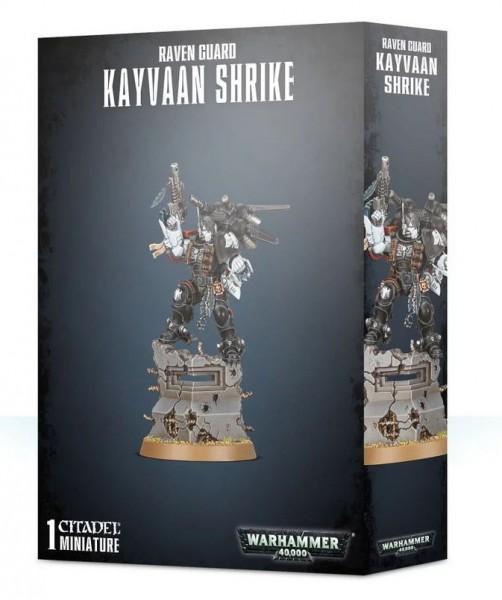 Warhammer 40k Space Marines: Space Marines Raven Guard Kayvaan Shrike
