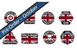 Team Yankee: British Token Set