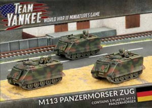 Flames of War Team Yankee M113 Panzermörser Zug