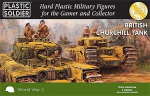 Plastic Soldier 15mm WW2 British Churchill Tank (für FoW)