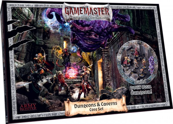 The Army Painter: Gamemaster - Dungeon's & Caverns Core Set