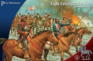 Perry Miniatures: War of the Roses Light Cavalry (1450-1500)