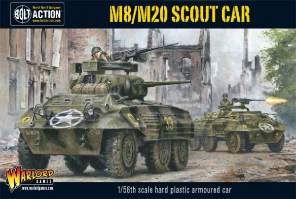 Bolt Action: Allied M8/M20 Greyhound Scout Car (plastic)