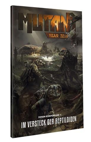 Mutant: Jahr Null Das Versteck der Reptiloiden Kompendium 1
