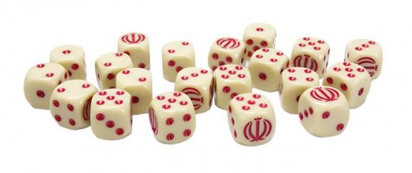 Oil War: Iranian Dice Set (x20)