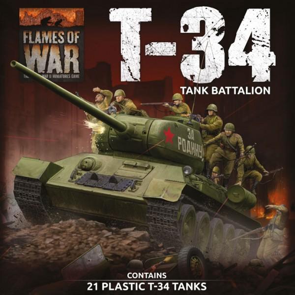 Flames of War SU: Soviet T-34 Tank Battalion