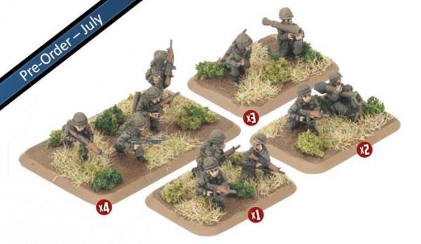 Team Yankee Dutch Armoured Infantry (x29)