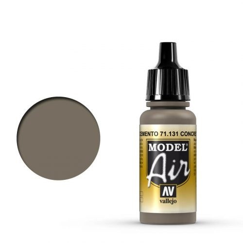 Vallejo Model Air: 71131 Concrete 17 ml