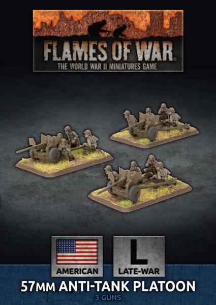 Flames of War US: US Army 57mm AT-Gun Platoon (Plastic)