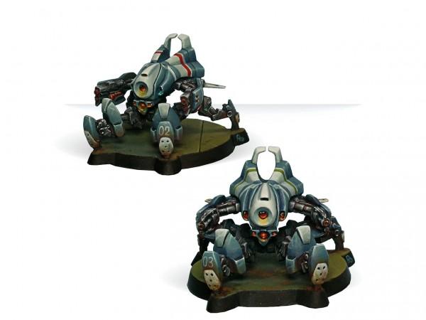 Infinity: Armbots Bulleteer (Spitfire, Heavy Shotgun)