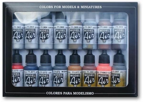Model Air: Set Metallfarben