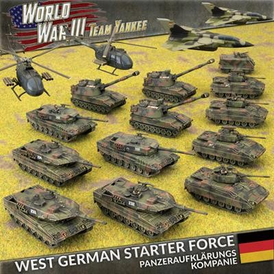 Flames of War Team Yankee West German Panzeraufklärungskompanie