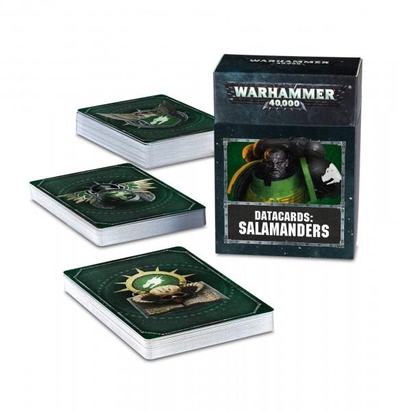 Warhammer 40k Space Marines: Space Marine Salamanders Datacards (englisch)