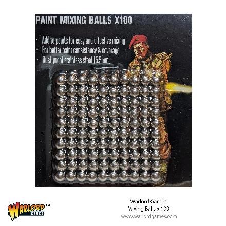 Bolt Action: Mixing Balls (100)