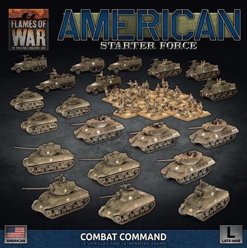 Flames of War US: Late War US Battlegroup
