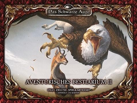 DSA5 Spielkartenset Aventurisches Bestiarium 2 Deluxe