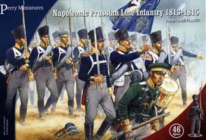 Perry Miniatures: Prussian Line Infantry 1813-1815 (46)