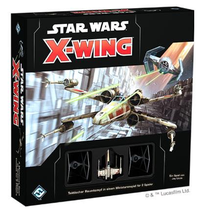 Star Wars: X-Wing 2. Edition Grundspiel (dt.)