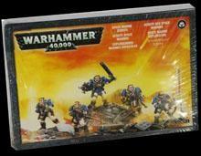 Warhammer 40k Space Marines: Scouts (Box, 5 Miniaturen)