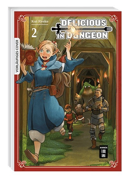 Delicious in Dungeon Band 02
