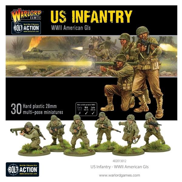 Bolt Action: US Infantry (30)