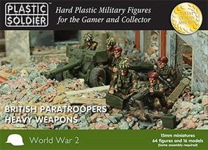 Plastic Soldier 15mm British Paratroopers Heavy Weapon