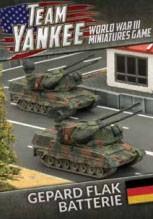 Team Yankee Gepard Flakpanzer Batterie