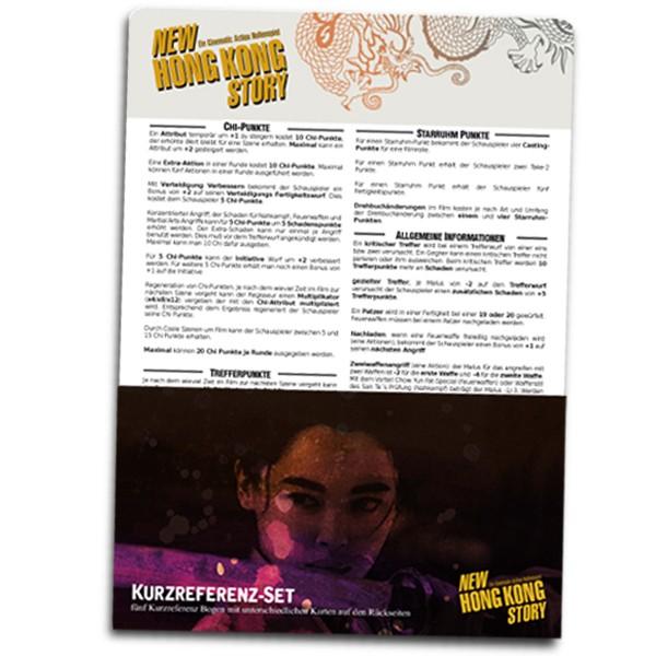 New Hong Kong Story Kurzreferenz-Set XL (dt.)