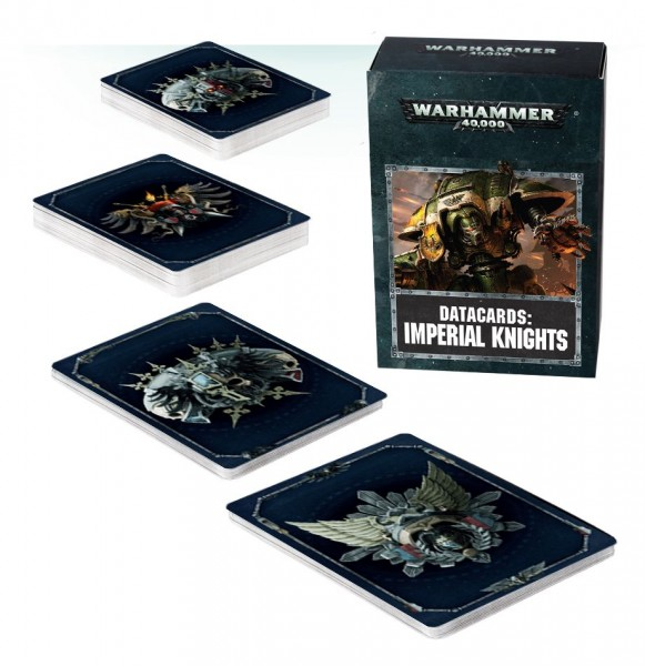 Warhammer 40.000 Imperial Knights Datacards (engl.)