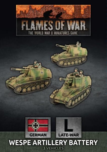 Flames of War GE: LW Wespe Artillery Battery (x3)