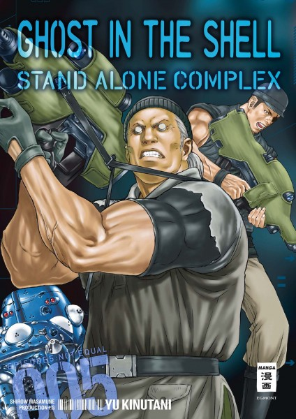 Ghost in the Shell Stand Alone Complex Band 05