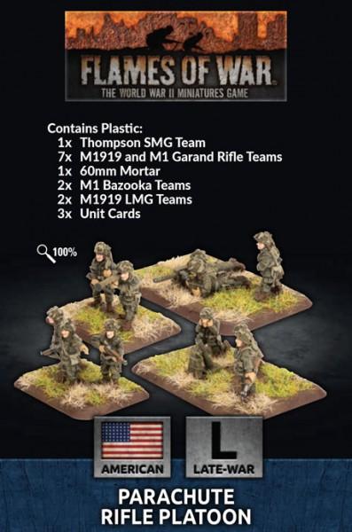 Flames of War US: Parachute Rifle Platoon (Plastic)