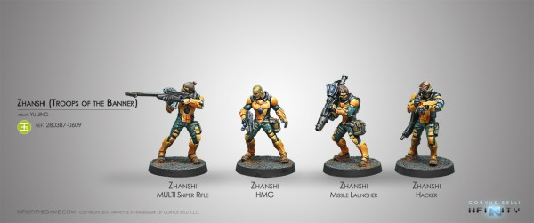 Infinity: Zhanshi (Troops of the Banner)