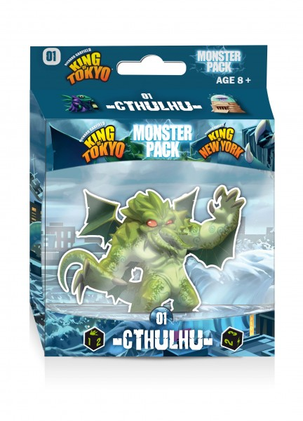 King of Tokyo 2. Edition Monster Pack - Cthulhu