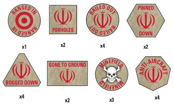 Oil War: Iranian Token Set