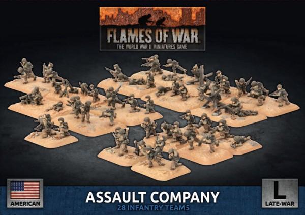 Flames of War US: US Assault Company