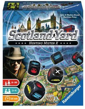 Scotland Yard - Das Würfelspiel (DE)
